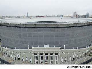 The Stadia of the 2018 World Cup in Russia