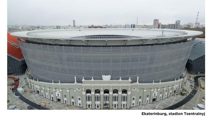 Pogledajte stadione na kojima će se igrati Svjetsko prvenstvo#The Stadia of the 2018 World Cup in Russia