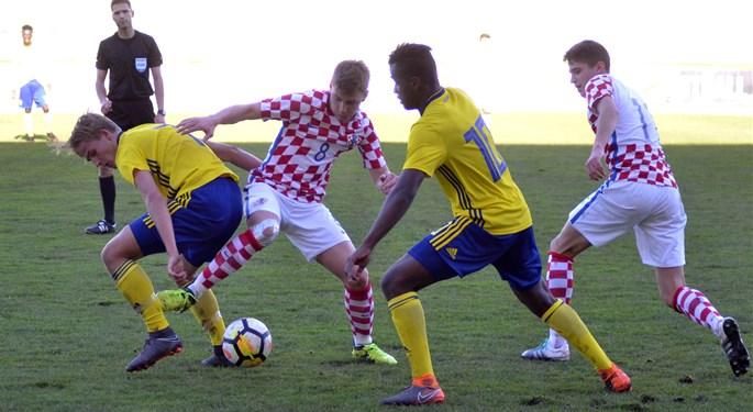 Video: Hrvatska U-17 remizirala sa Šveđanima na otvaranju Elitnog kola