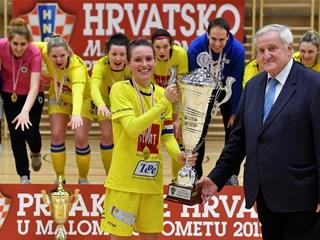 Doigravanje za naslov malonogometnih prvakinja Hrvatske