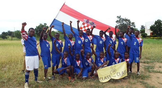 Podrška Vatrenima iz Tanzanije