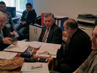 Sastanak delegacije HNS-a i predstavnika NK Zagorca