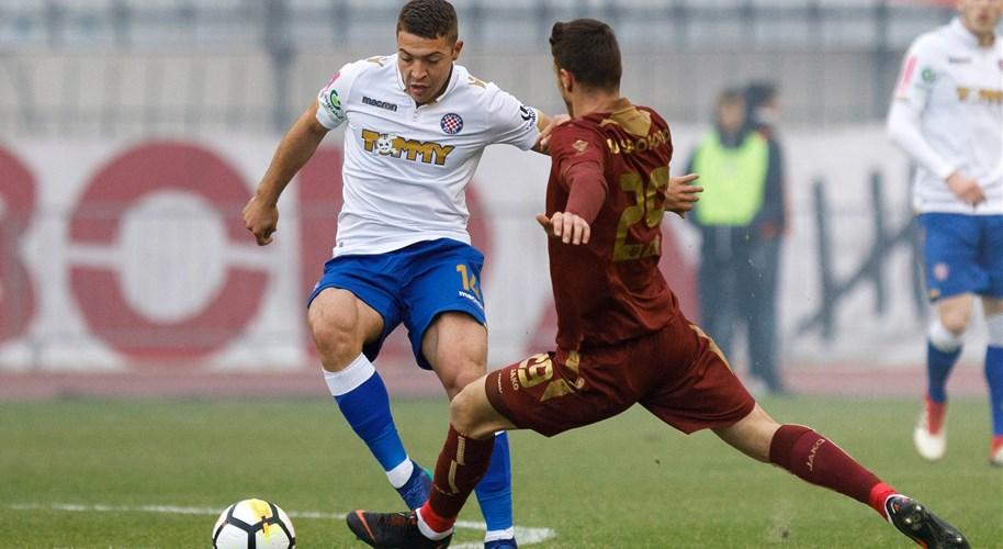 Hajduk i Rijeka remizirali u prvim susretima trećeg pretkola