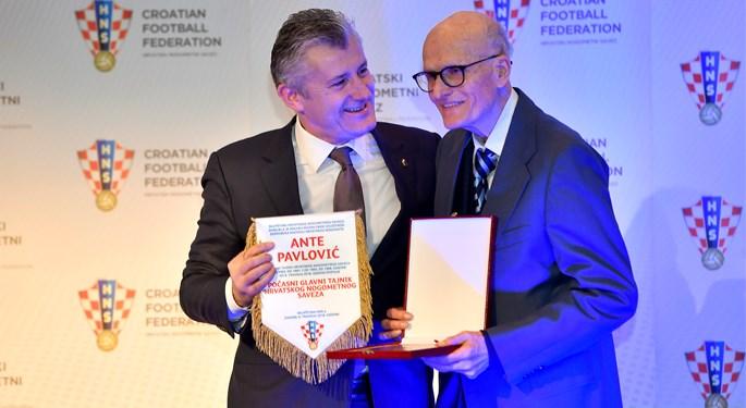 Ante Pavlović postao prvi počasni glavni tajnik HNS-a
