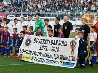 HNS i hrvatski prvoligaši podržali Svjetski dan Roma