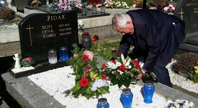 Predstavljena knjiga Tomislava Židaka, obilježena godišnjica smrti
