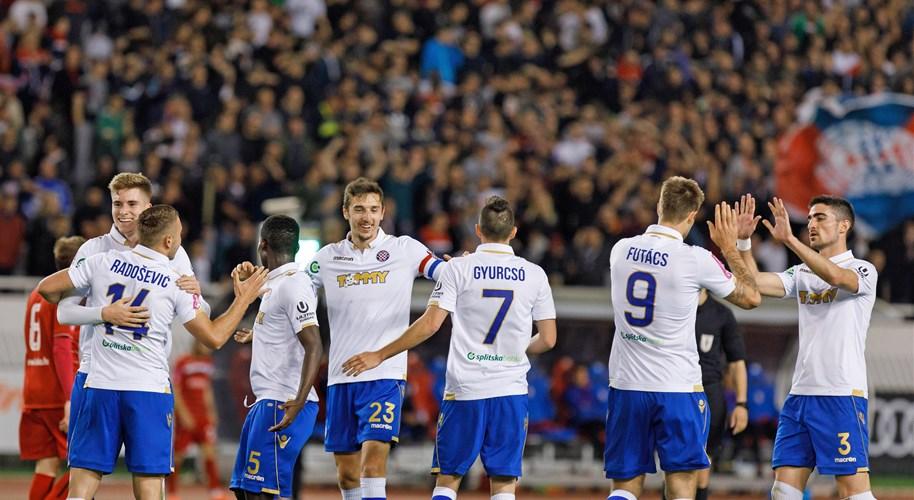 Video: Hajduk smanjio zaostatak, prekinut niz Rudeša