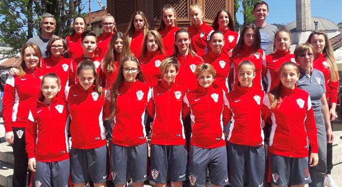 Hrvatska U-16 na razvojnom turniru u Velikoj Gorici i Ivanić-Gradu
