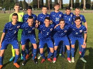 Remi Hrvatske U-15 na otvaranju turnira Delle Nazioni