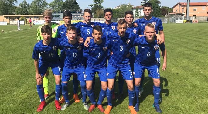 Hrvatska U-15 zauzela treće mjesto Skupine A