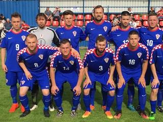 Hrvatska reprezentacija gluhih remizirala s Ircima