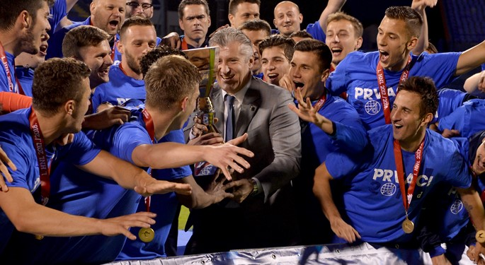 Dinamo proslavio osvajanje HT Prve lige#Dinamo Celebrates Winning the Croatian First Division