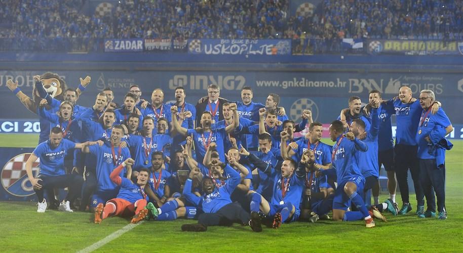 Dinamo pobjedom proslavio naslov, Rijeka u derbiju osigurala drugo mjesto