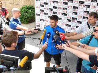 """Kramarić: """"Nadam se da ćemo se vratiti jednako sretnih lica"""""""