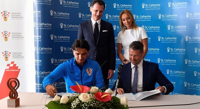 HNS potpisao ugovor o suradnji sa Specijalnom bolnicom Sv. Katarina