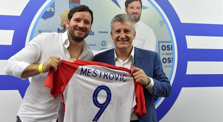 """Ivan Meštrović: """"Osijek naš najbolji klub, a Šuker najpoznatiji Hrvat na svijetu"""""""
