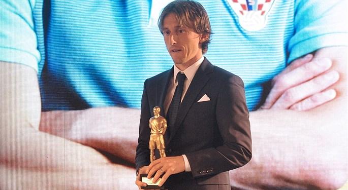 Dodijeljen Trofej Nogometaš: Luka Modrić ponovno najbolji