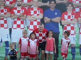 Predsjednik Šuker i članovi IO-a u hrvatskoj navijačkoj zoni