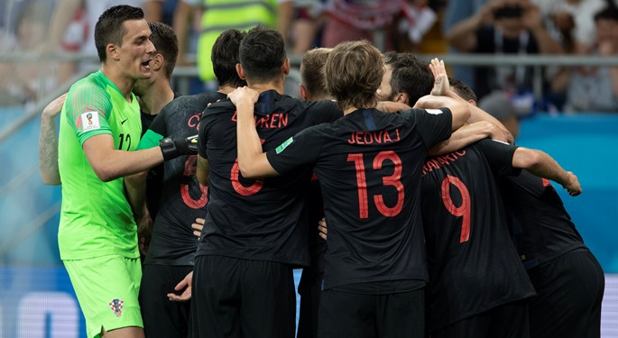 Three out of three: Croatia to face Denmark in Round of 16
