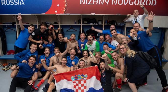 Drama u Nižnjem Novgorodu za hrvatsko četvrtfinale#A Shootout Win for Croatia in the WC Round of 16