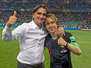 Modrić best playmaker, Dalić runner-up among the national team coaches