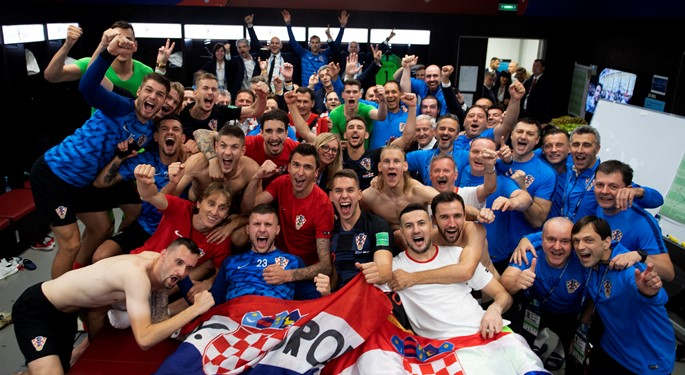 Croatia overcomes England to reach the World Cup Final!