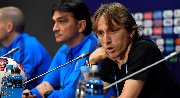 Dalić and Modrić enjoy the World Cup Final opportunity