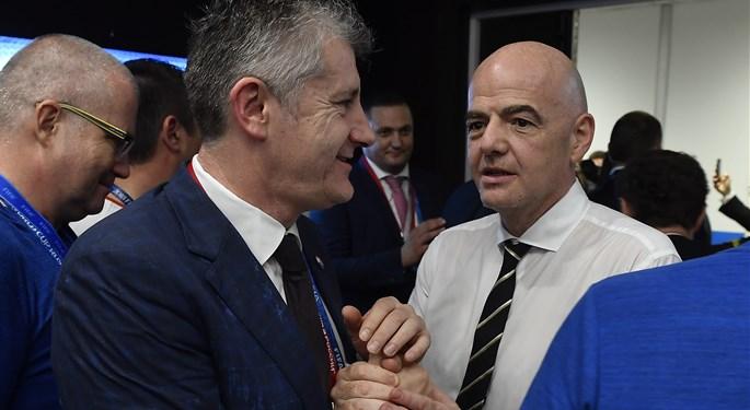 Šuker thanks FIFA for World Cup organization