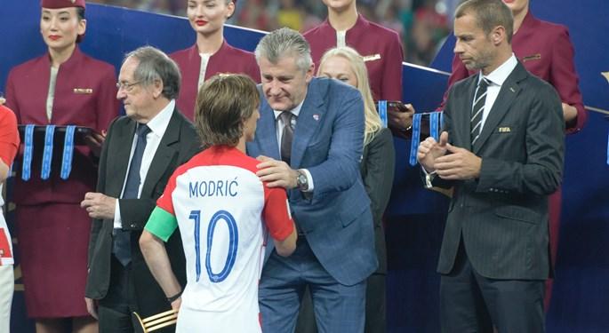 """Modrić: """"More than a childhood dream"""", Šuker: """"Hats off"""""""