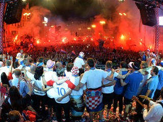 Croatia returns to a heroes' welcome!