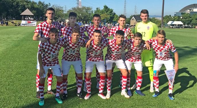 Hrvatska U-18 nastupila na turniru u Niigati
