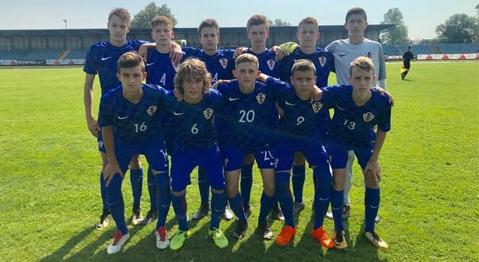 Hrvatska U-15 ponovo nadjačala Albaniju