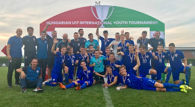 Maksimalna Hrvatska U-17 osvojila Telki Cup