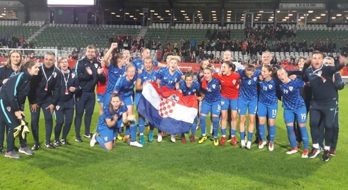 Hrvatice nadomak povijesne pobjede, uzele bod Danskoj!