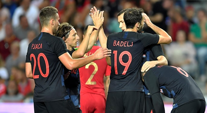 All level between as Croatia visits Portugal
