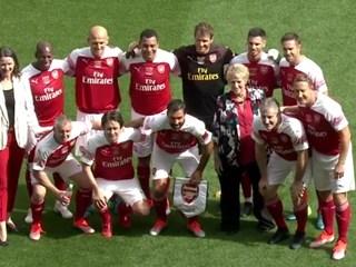 Predsjednik Šuker na utakmici legendi Arsenala i Reala