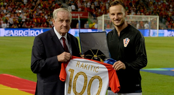 Ivan Rakitić ušao u Klub 100