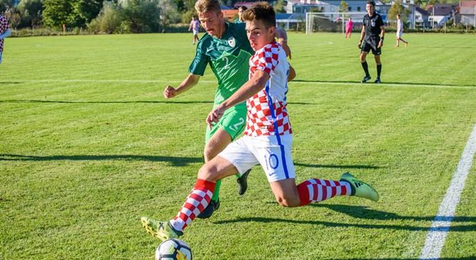 Slovenija U-17 ponovno svladala hrvatske vršnjake