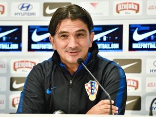 """Dalić: """"Nadam se lijepoj posjeti, dobroj utakmici i našoj pobjedi"""""""
