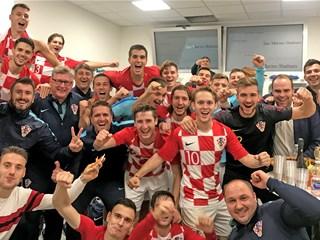 Video: Hrvatska U-21 osigurala plasman na EP!