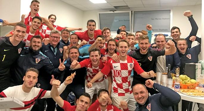 Hrvatska U-21 osigurala plasman na EP!