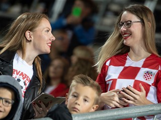 Fans enjoy Croatian win against Jordan