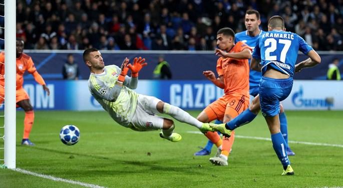 Sportska Hrvatska Kramaricevi golovi za bod Hoffenheima