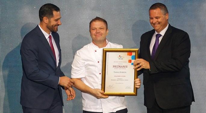 Kuhar reprezentacije nagrađen na Danima turizma