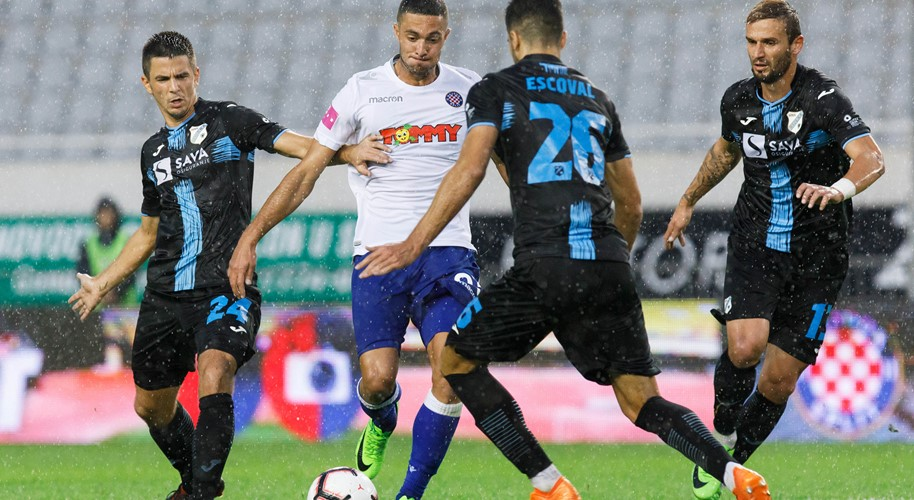 Video: Bijela točka presudna u Jadranskom derbiju, Dinamo uspješan kod Slavena