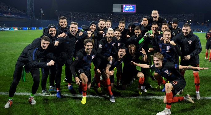Late drama as Croatia overcomes Spain