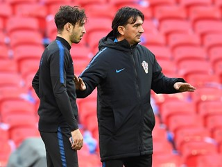 "Dalić: ""We did not want to take any chances with Vrsaljko"""