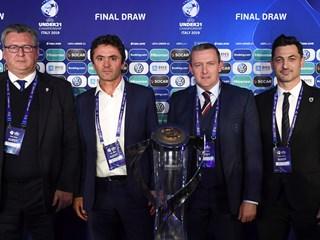 Hrvatska U-21 s Englezima, Francuzima i Rumunjima