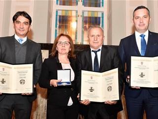 Croatia national team receives Franjo Bučar State Award