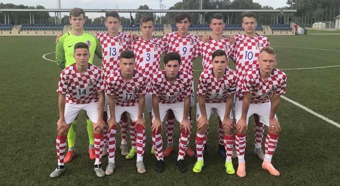 Visoka pobjeda Hrvatske U-16 protiv Bjelorusije